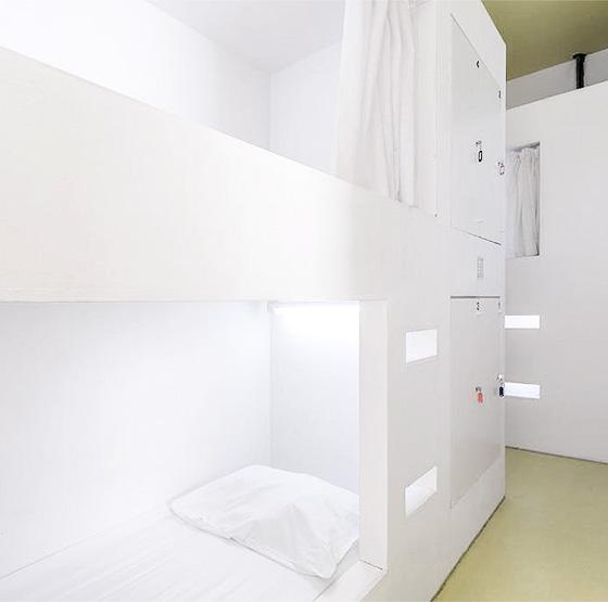 goli bosi hostel room with bunks beds